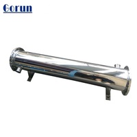 Sanitary Stainless Steel Juice Shell&Tube Heat Exchanger