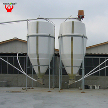 China Supplier Corrosion Resistance Chicken Feed Storage Silo