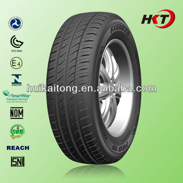 FARROAD Car tyre factory in china with warranty letter