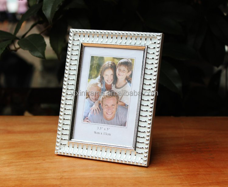 wholesale price new item white baroque PS plastic bulk photo picture frame 4x6 5x7 6x8 8x10
