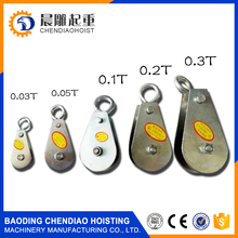 small stainless steel pulley mini single wheel pulley