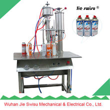 graffiti spray tips filling machine