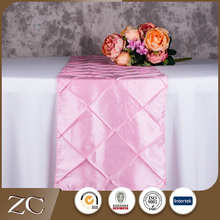 Wholesale good price clear hotel indian table runners