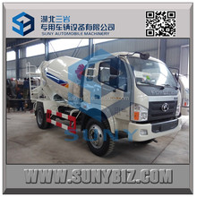 Hot sale Brand Foton 130 hp 3 cbm used portable concrete mixers for sale