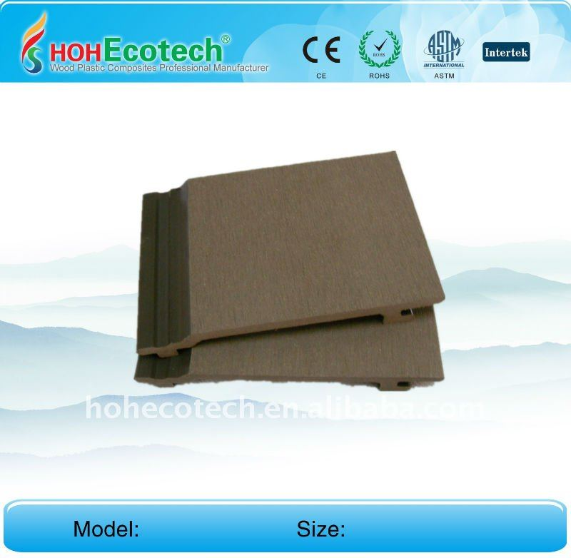 wood plastic composite external wall panel wpc cladding