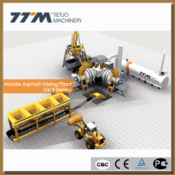30t/h mobile asphalt bitumen production plant,mini asphalt batching plant