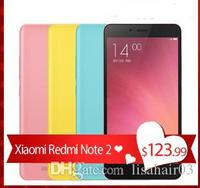 Original xiaomi Redmi Note 2 TD 4G LTE Cell Phone Android 5.0 MTK Helio 10 Octa Core 5.5'' 19201080 2GB RAM 16GB 13MP Camera
