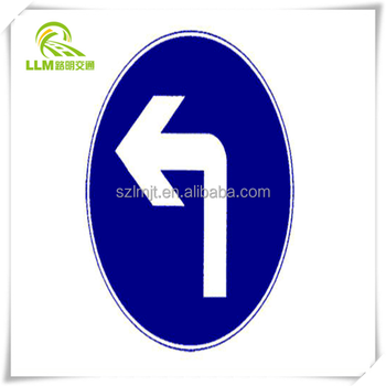 Wholesale aluminum alloy vehicle indicated traffic sign board