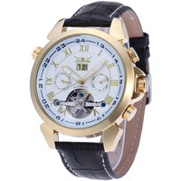 express hot wrist watches men luxury brand automatic movement saat ,gold watch
