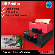 Best Quality Small Format a3 Size UV Printer With Cheapest Price for Digital Gift Card Printing Machine