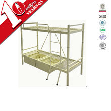 Commercial funiture Steel Double Bunk Bedfor 2 persons / metal double-deck bed home furniture