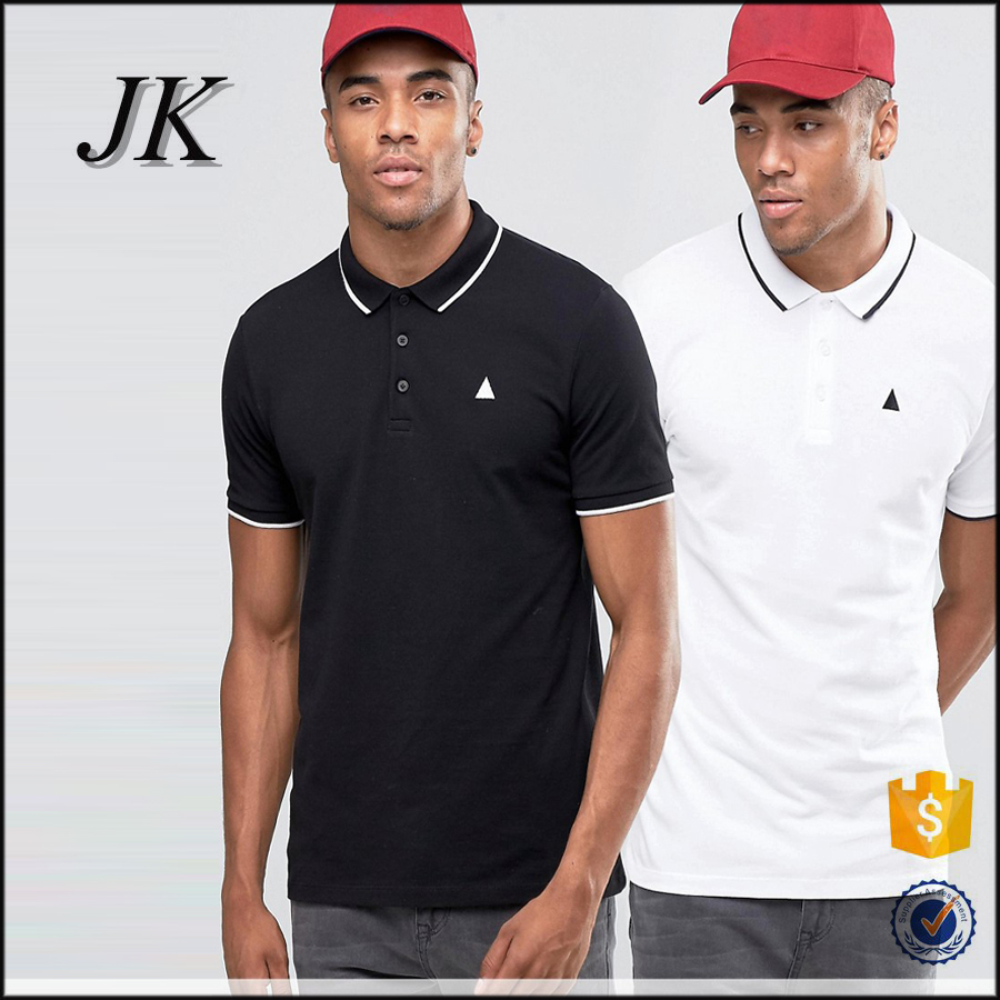 2016 high quality low price customized stylish men's casual blank cotton polo T Shirt