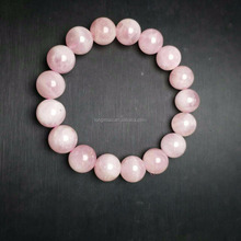 Natural Rose Quartz Pink Crystal Stone Beads Handcraft Bracelets,Make jewelry natural beads