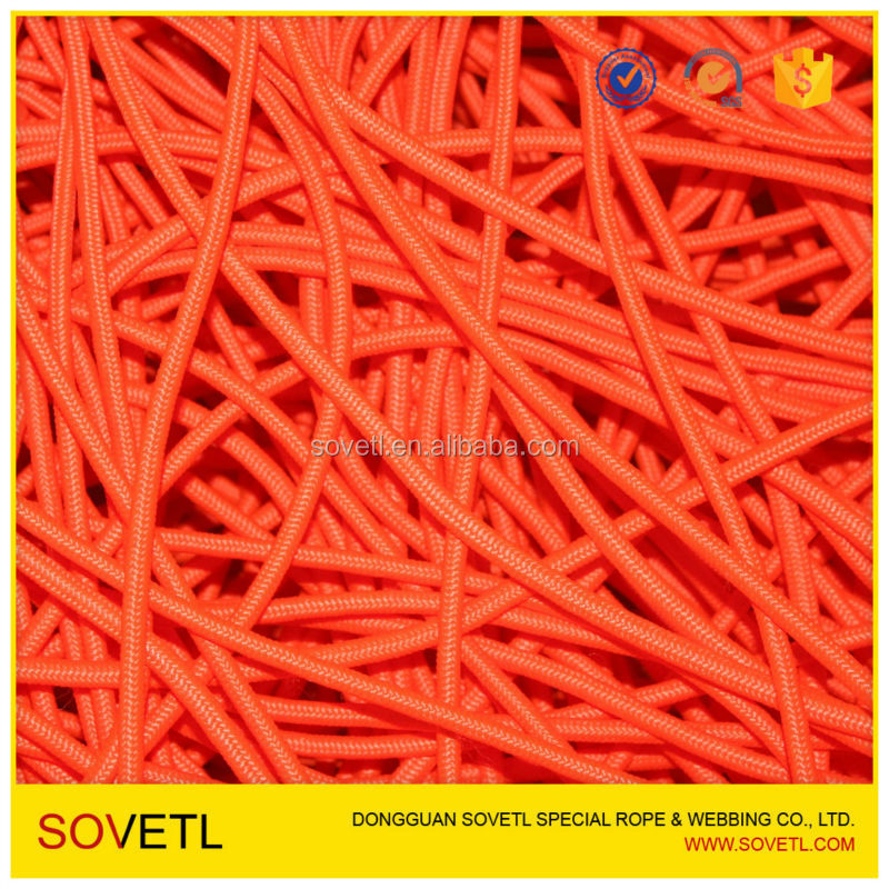 Hollow nylon rope for sale paper bag handle rope for shopping