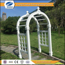 PVC decorative arbor for outdoor