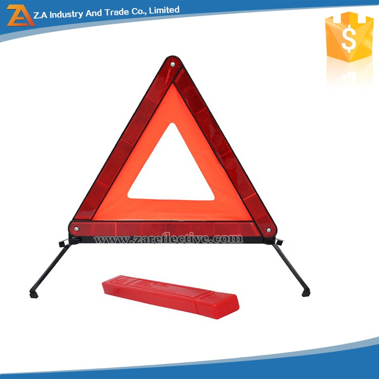 Auto Reflective Traffic Reflector Triangle Car Emergency Tool Folding Warning Signs
