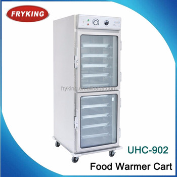 10 Trays Powerful Function Hot Food Warming Cabinet For Sale