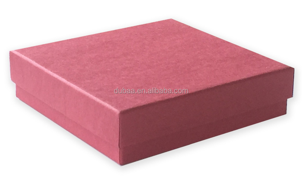 Cuztomized Kraft Colors Paper Jewelry Boxes