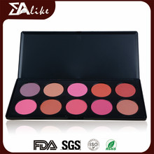 Wholesale cosmetic make up makeup mineral cream best pink natural blush