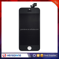 China Alibaba wholesale lcd digitizer assembly for iphone 5 black lcd