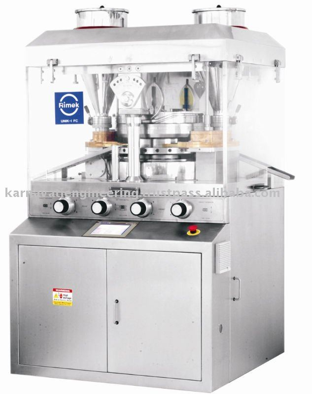 UNIK I FC - Heavy Duty Double Rotary Tablet press machine