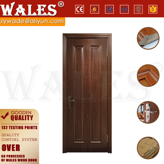 Low cost house interior solid wood exterior pocket imported doors
