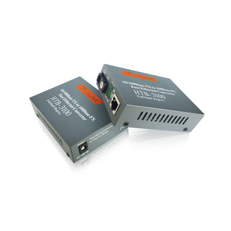 Best price network switches 10/100M 25km SC single mode sinle fiber Netlink media converter