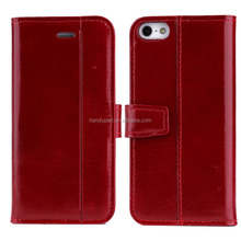 Hot Selling Mobile Phone Back Cover Leather Case for iPhone 7