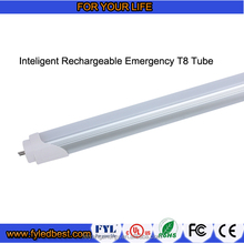 t8 free sample emergency led tube light 600mm 9w rechargeable