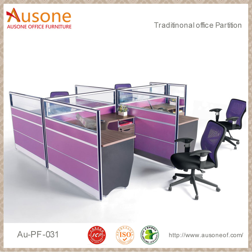 High quality indoor cubicle workstation office partition screen and workstation