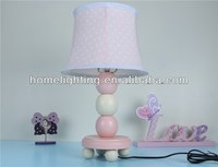 Pink Stacked Ball Base Bedside Childrens Table Lamp ,WD-48271