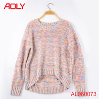 fashion sweater knit acrylic,latest fancy sweater design,girls knitted pullover school sweater