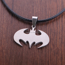 fashion necklace bat Man with Frank Miller hero simple pendant(SWTMD1405)
