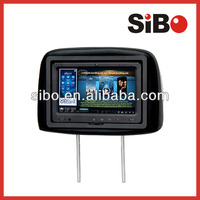 Rear Seat Monitor for Coach VOD & Entertainment