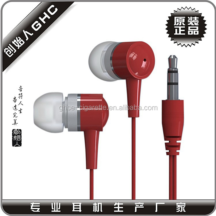 plastic earphone from shenzhen factory, china earphone factory