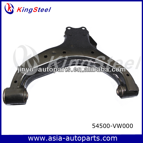 Front lower electric hydraulic mechanical car suspension arm parts used for NISSAN URVAN 2002-2007 54500-VW000