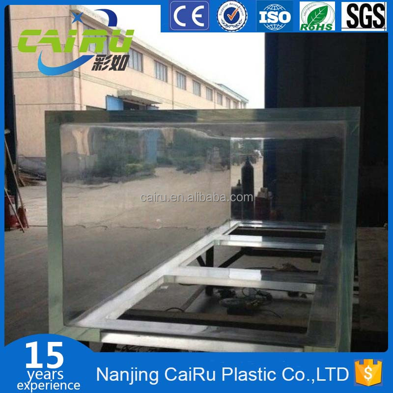 Acrylic BowFront Aquarium Rectangular Large Acrylic Fish Tank