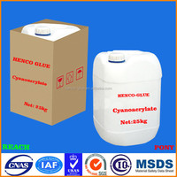 High performance China original 502 Ethyl Cyanoacrylate adhesive