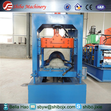 Alibaba certificated cold rolled roof ridge cap strong and durable roll forming machine hot sale for new year