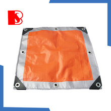 waterproof roof cover woven fabric plastic canvas leno tarpaulin pe block pe tarpaulintent