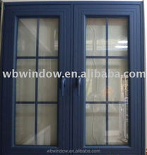 Modern house window designs,UPVC inswinging casement window