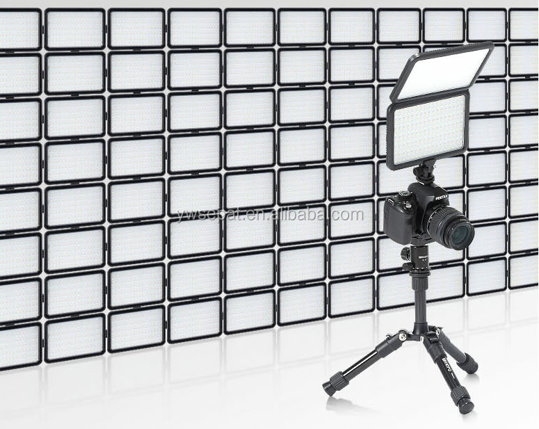 TTV-204 Led Super Slim Studio Video Light with Dual Color Temperature 3200K-5600K and CRI 88 and battery and charger