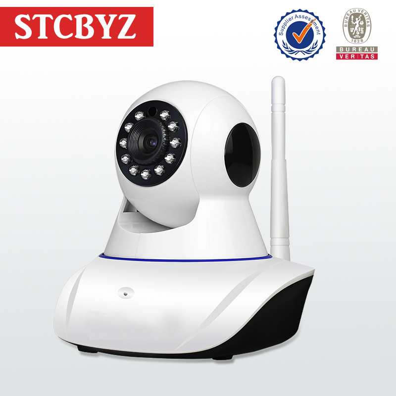 Nice Looking Blue Line WIFI SD Card IP Camera