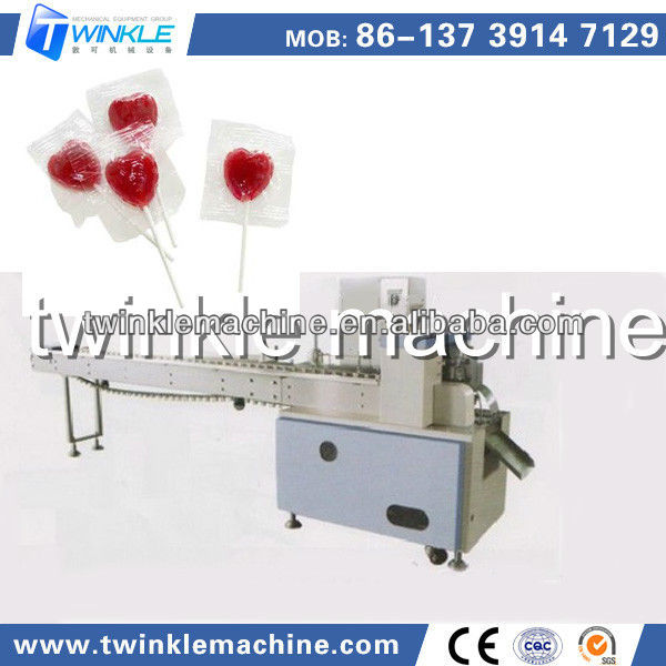 TK-628 HIGH SPEED HEART SHAPE LOLLIPOP WRAPPING MACHINE/WRAPPER