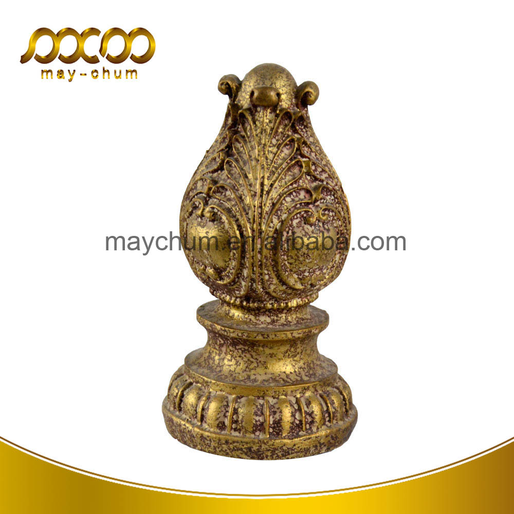 Europe Style Brass Animal Polyresin Art Craft Vintage Home Decor