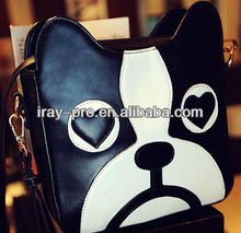2013 new fashion cute carton dog handbag/single-shoulder bag