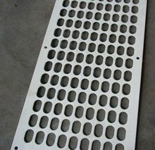 perforated sheet metal sieve size diamond