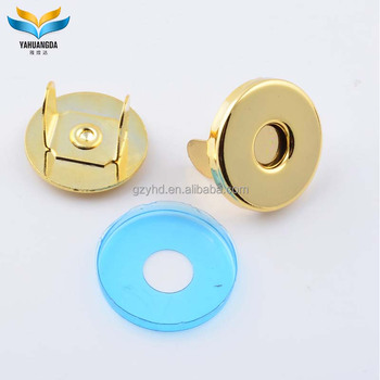 wholesale custom metal magnetic snap buttons for bag accessories