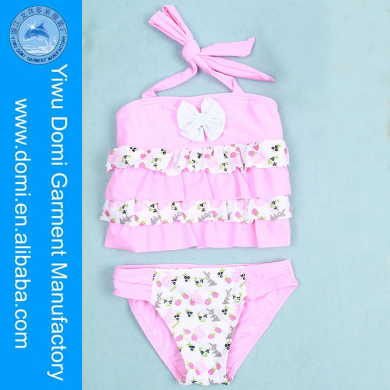 Pineapple and cherry baby cute girl swimwear small girl sexy images children bikini