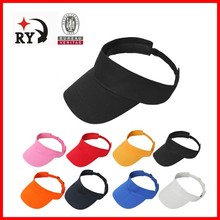 High Quality 100% cotton sales promotion visor